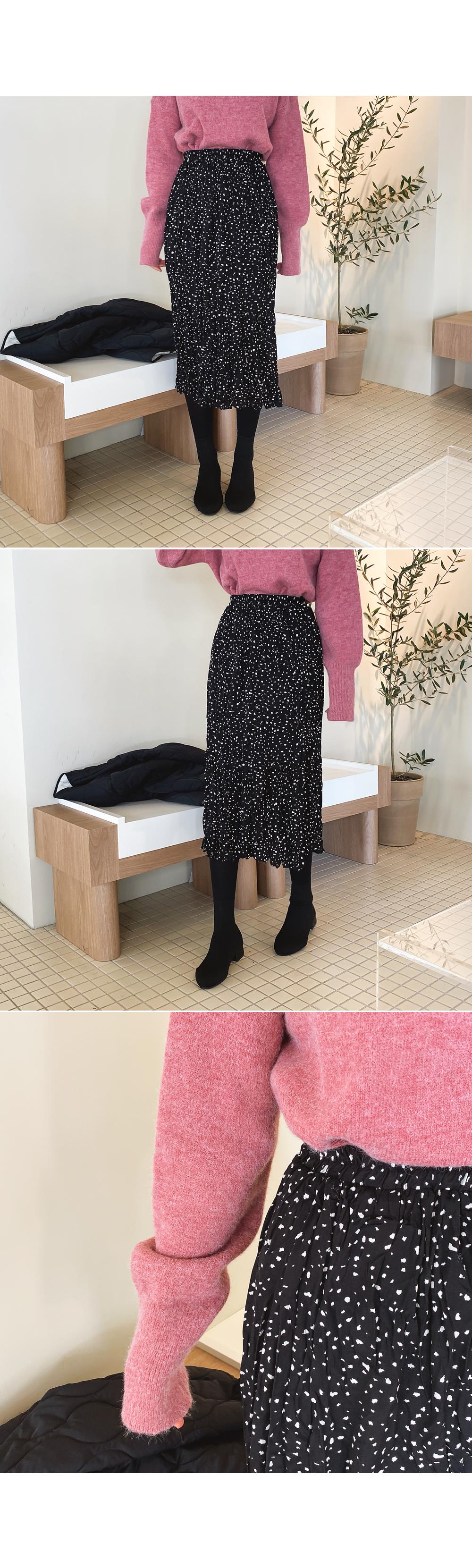 Gentle banding lining skirt