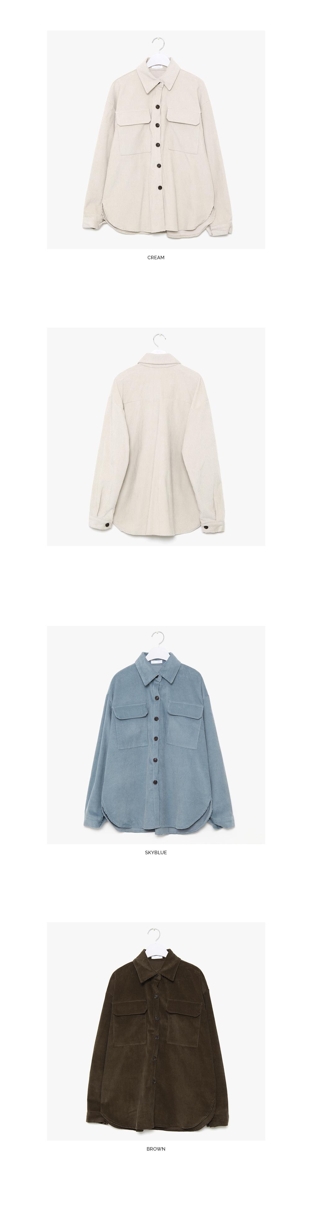 ono corduroy overfit shirts