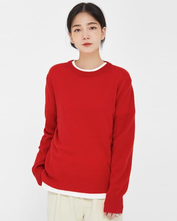 viva fall round wool knit