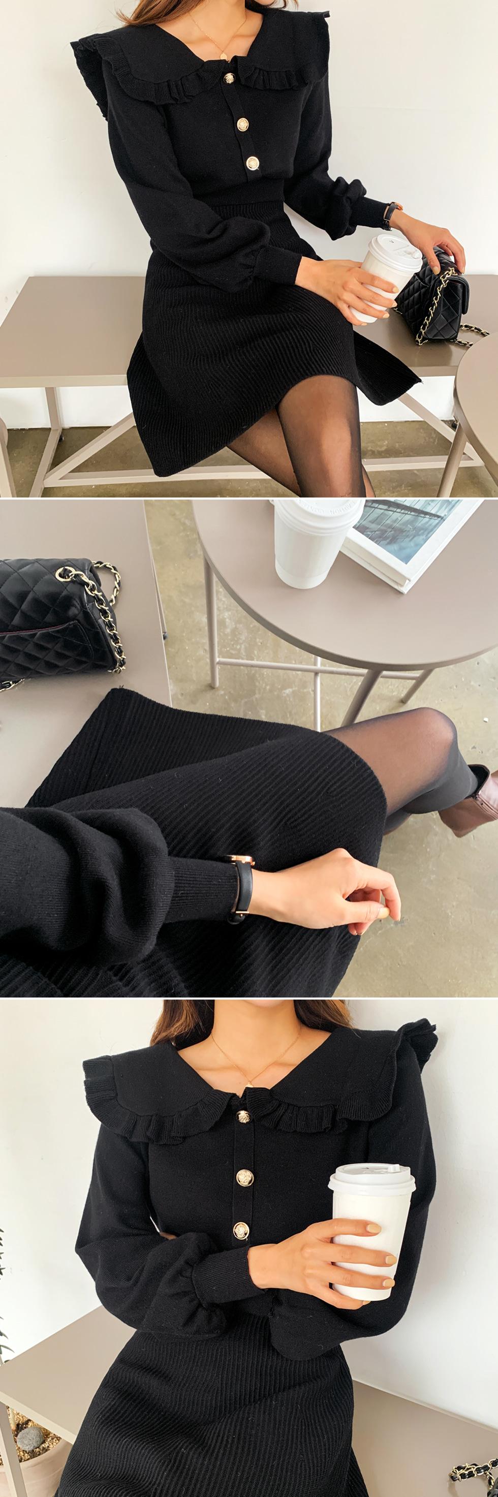Swing Jewelry Knit Dress