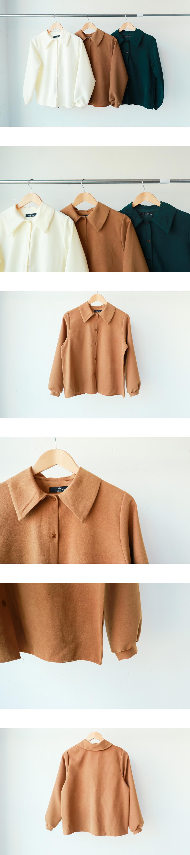 Balloon sleeve blouse shirt