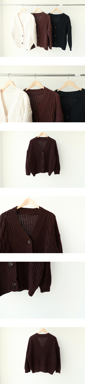 Royal Button Knit Cardigan