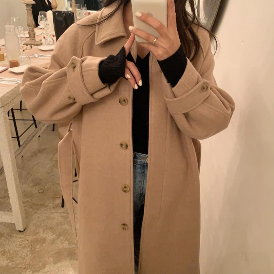 Sunday herringbone coat