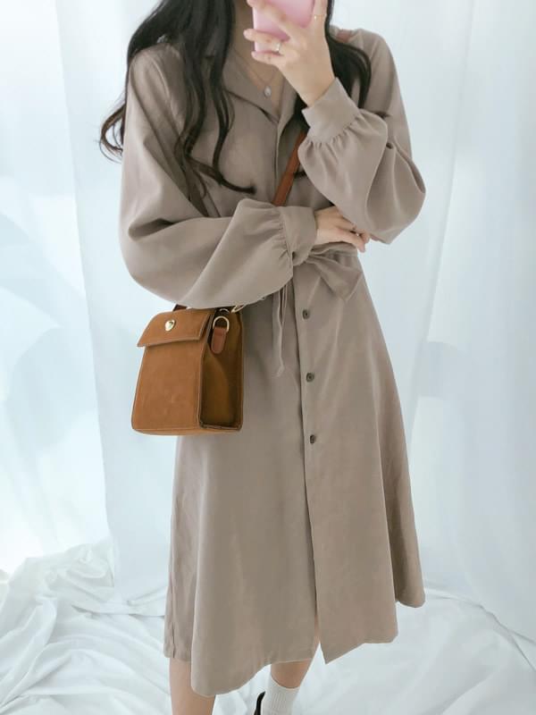 Vera strap belt dress
