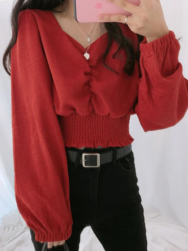 Ace smoking blouse