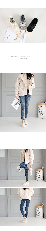 Covento Real Fur Slip-on 2cm