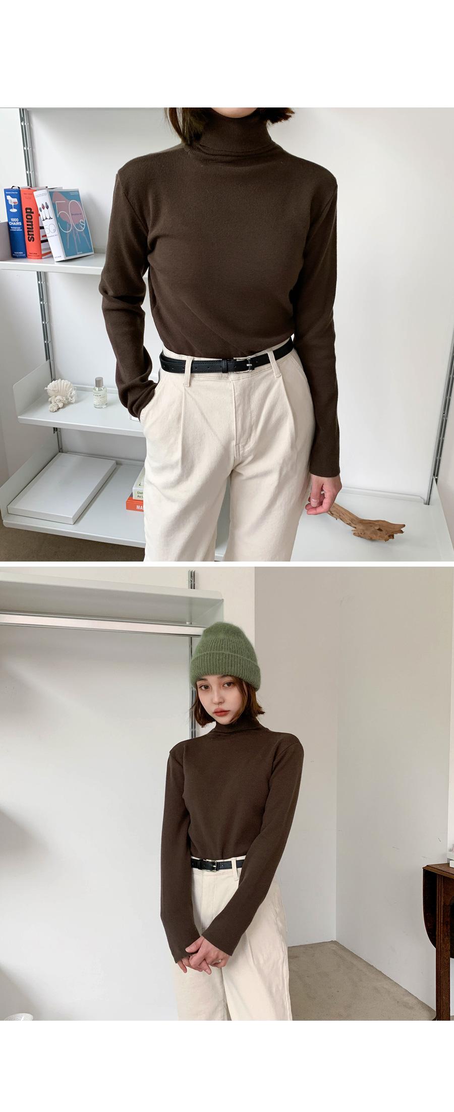 Slim Polar Knit