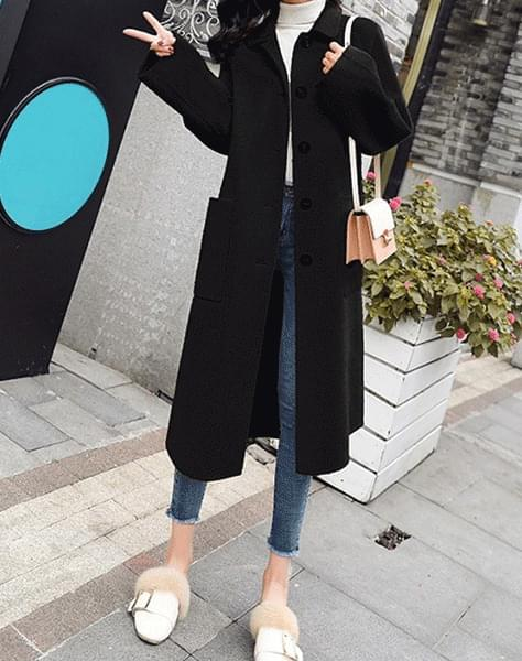 Solar long coat