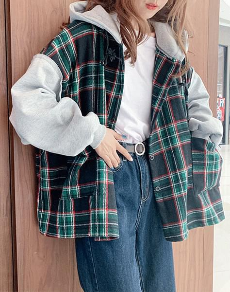 Getty check jacket