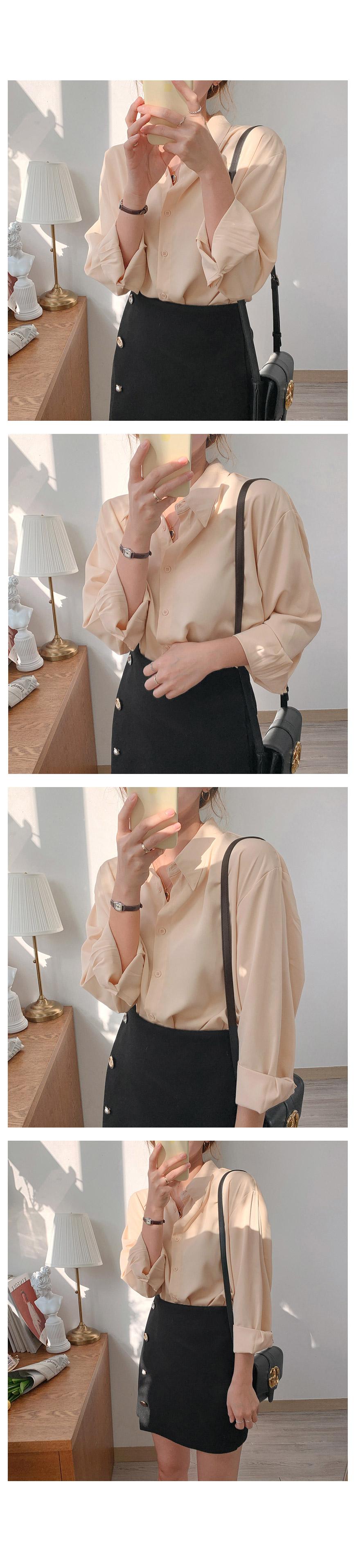 Hazel See Through Ribbon blouse-3color
