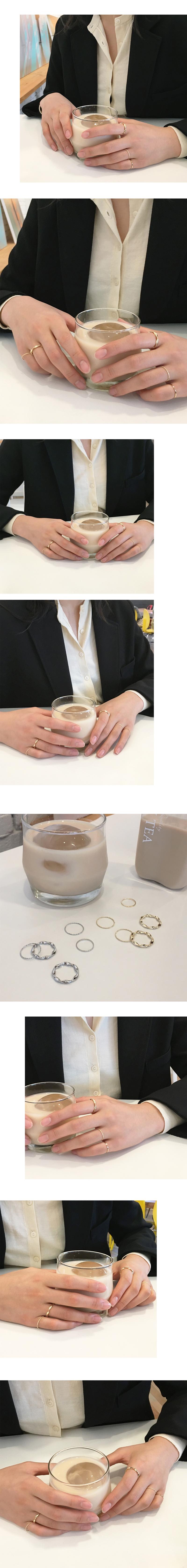 billow ring set