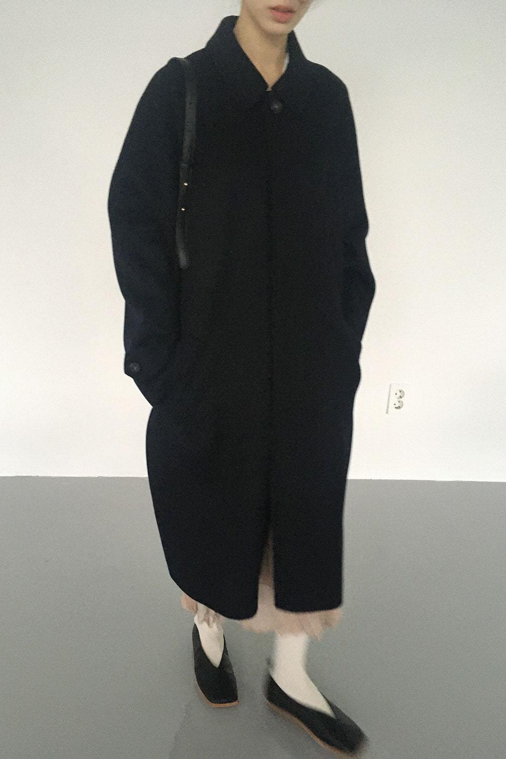 silky texture wool coat (2colors)