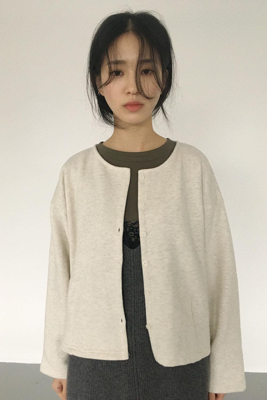 solid comfy cardigan (2colors)