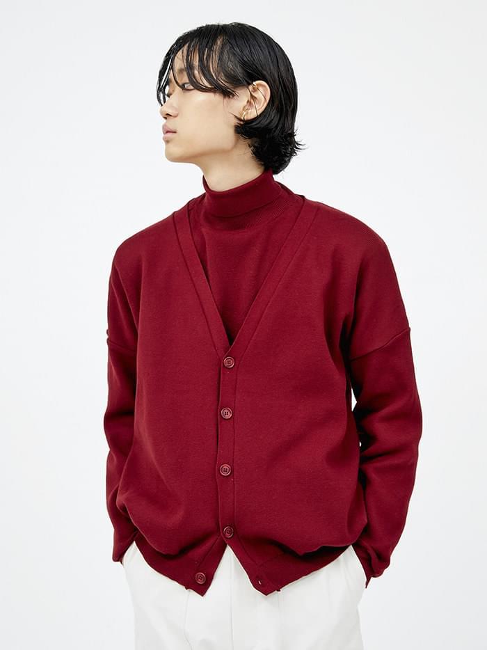 cozy mood cardigan (4 color) - men