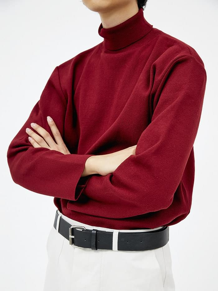 cozy mood turtleneck knit (4 color) - men