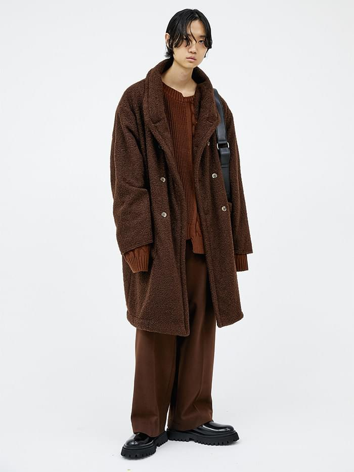 teddy bear coat (3 color) - men