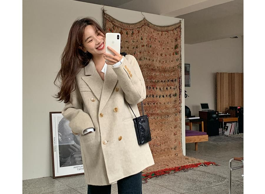Llud handmade double jacket_Y (size : free)