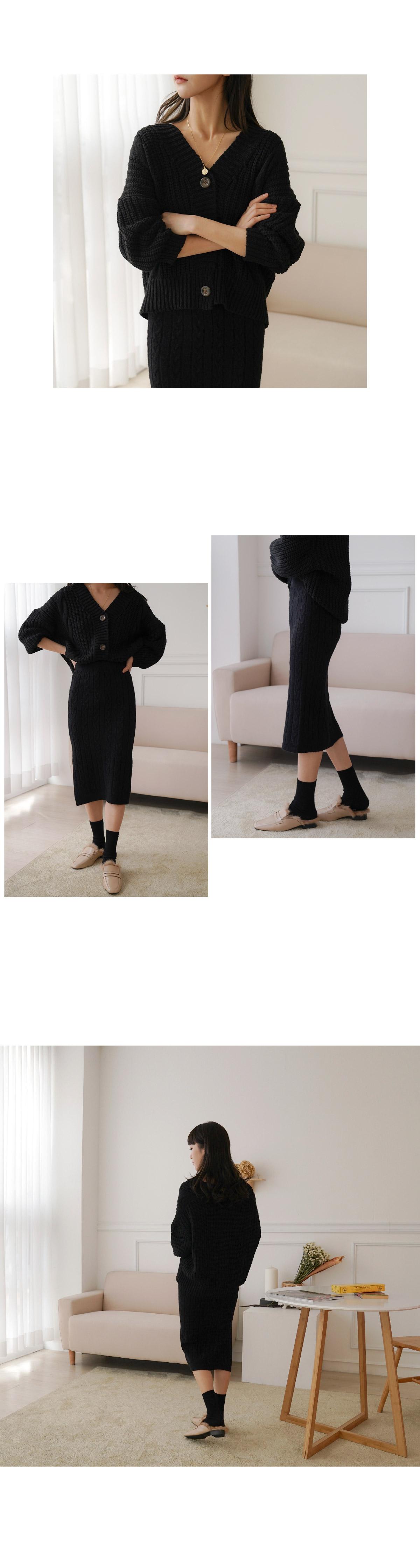 Cullen Knit Skirt Set _Y