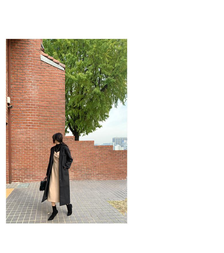 Black Button Bustier Long Dress