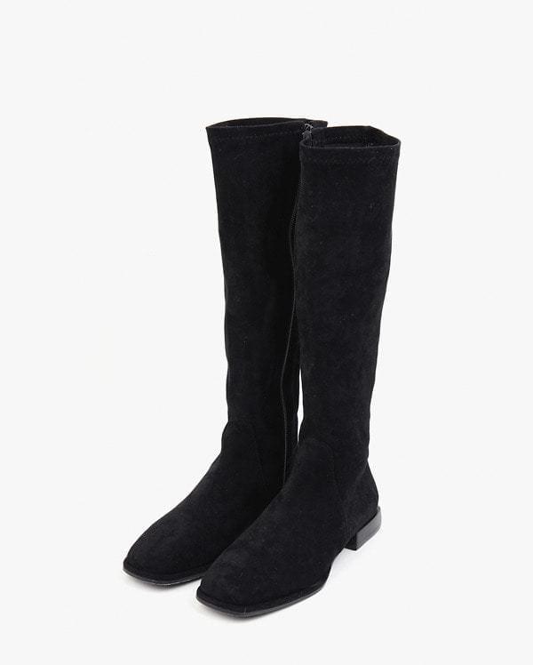 soft suede semi-long boots (225-250) (인기상품 배송지연)