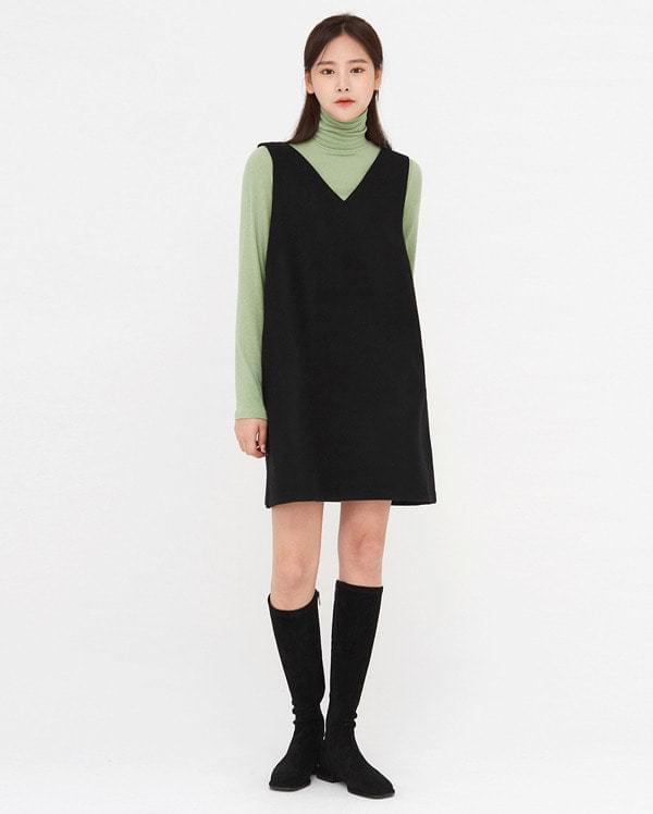 life wool v-neck sleeveless ops