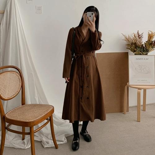 Melodine Double Long Dress