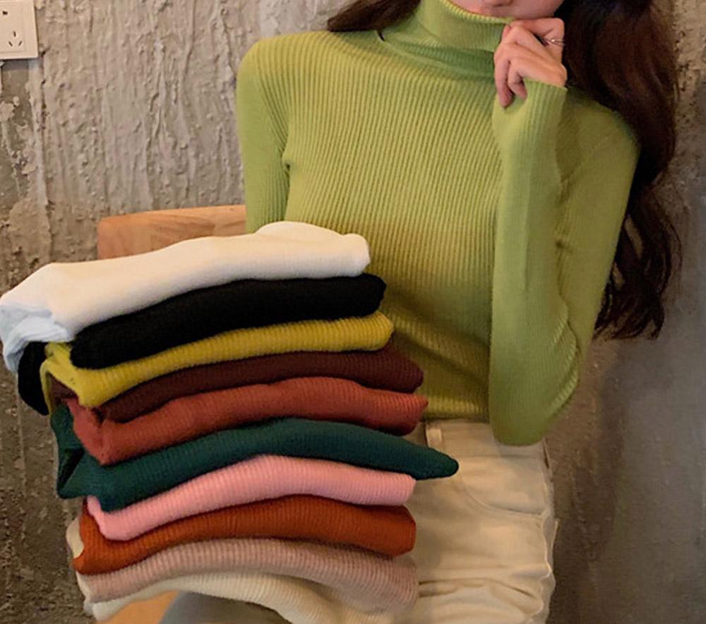 Schnit Color Corrugated Polar Knit