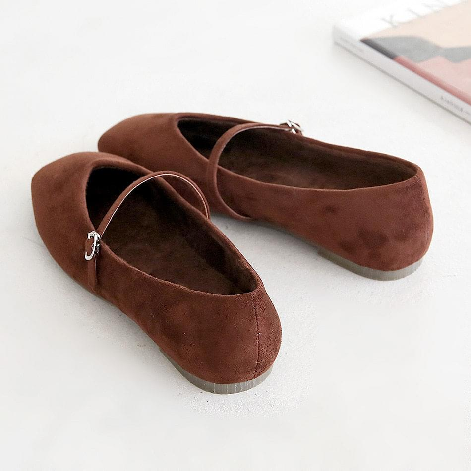 LA KENT Mary Jane Flat Shoes 1cm