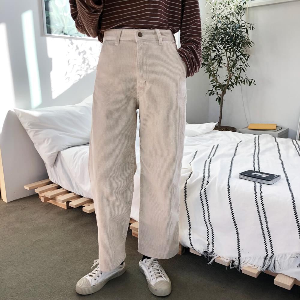 Cream Corduroy Pants
