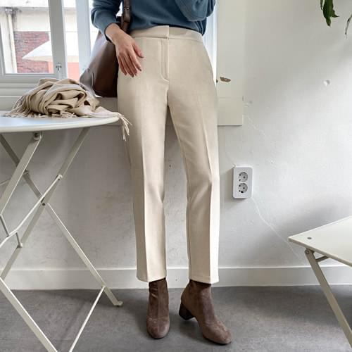 Joel Winter Slim Date Fit Slacks-Beige S