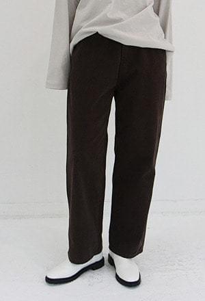 Warm cotton pants