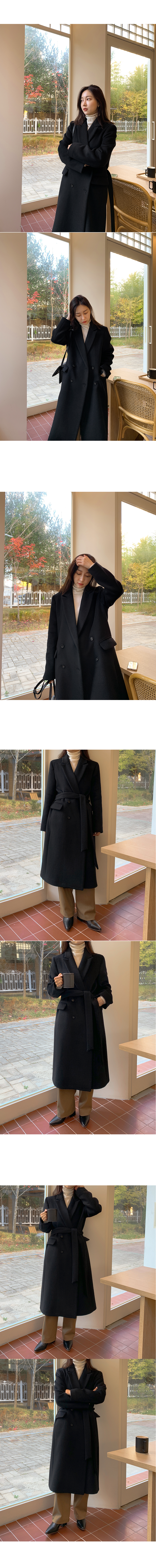 Classic double coat