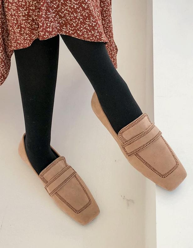 Jackie Stitch Loafers