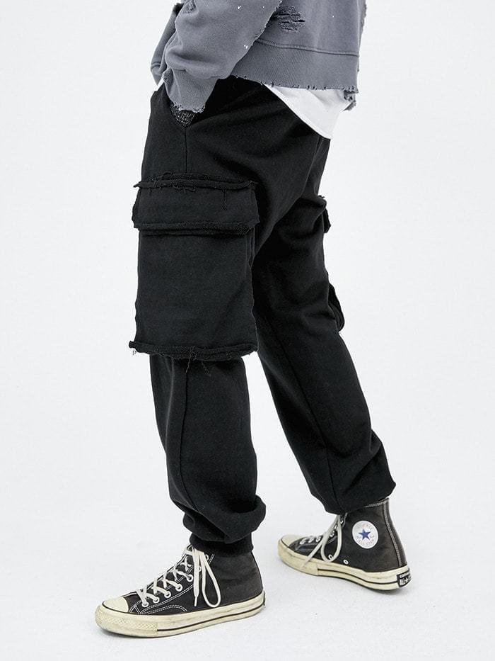cutting pocket heavy pants (2 color) - men