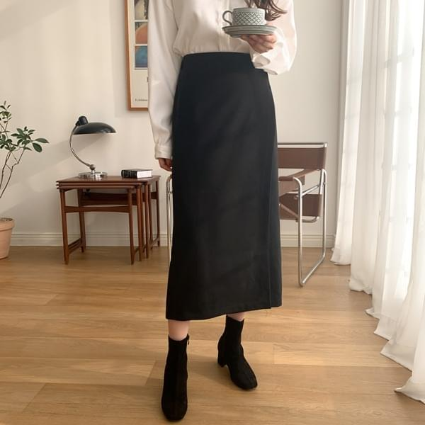 Abby wrap skirt
