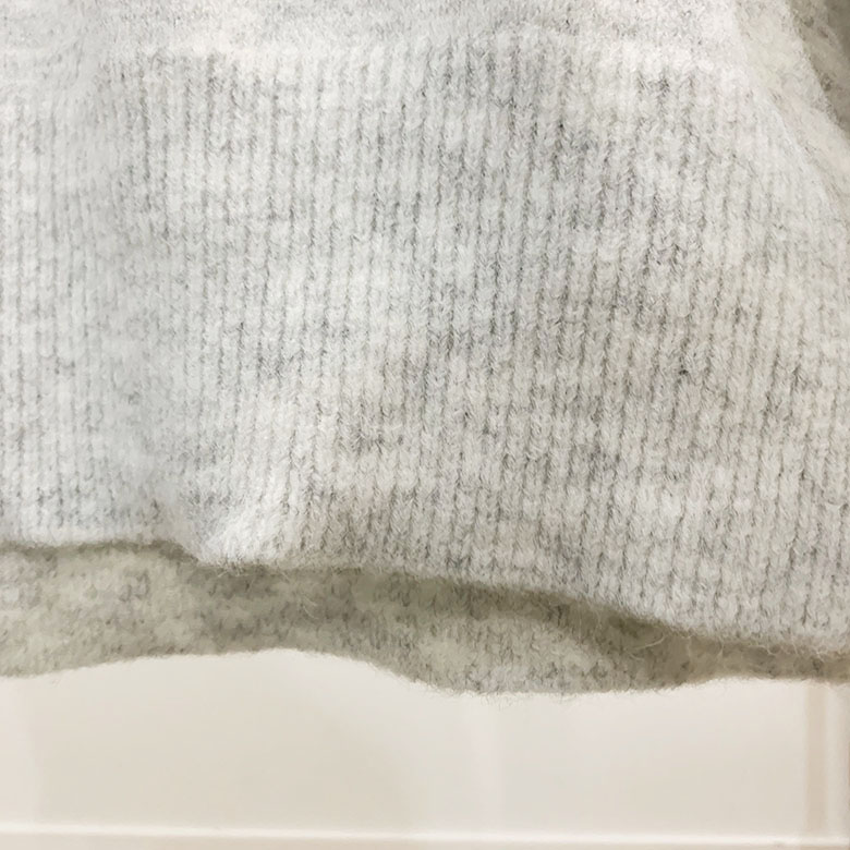 Eunice Overfit Turtleneck Polar Knit