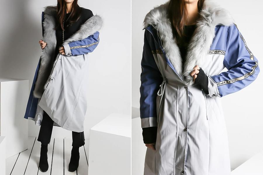 Windbreaker fur coat_ct03479