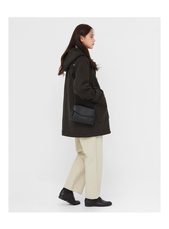 hence napping wool duffle coat