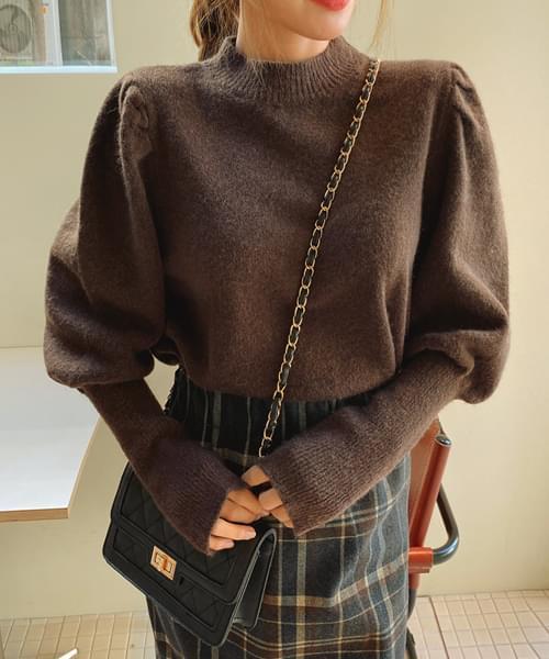 Confident Puff Knit