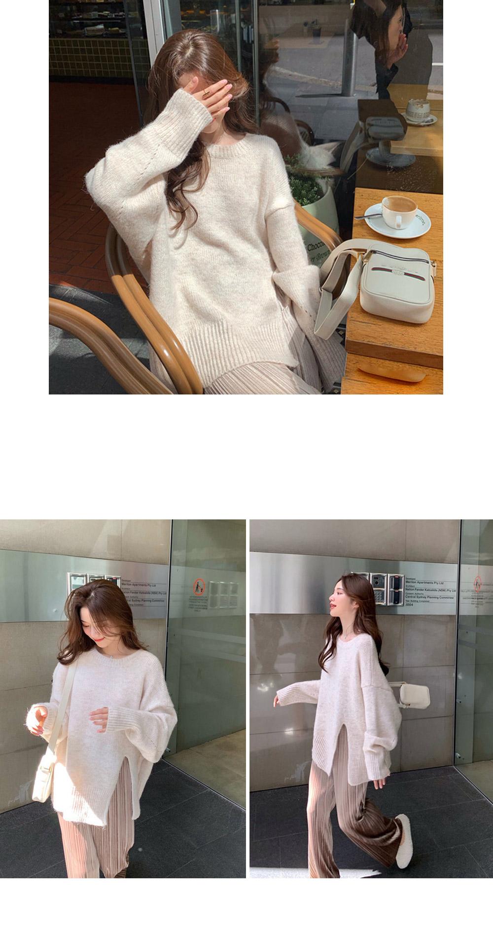 LUDIN Soft Slit Knit