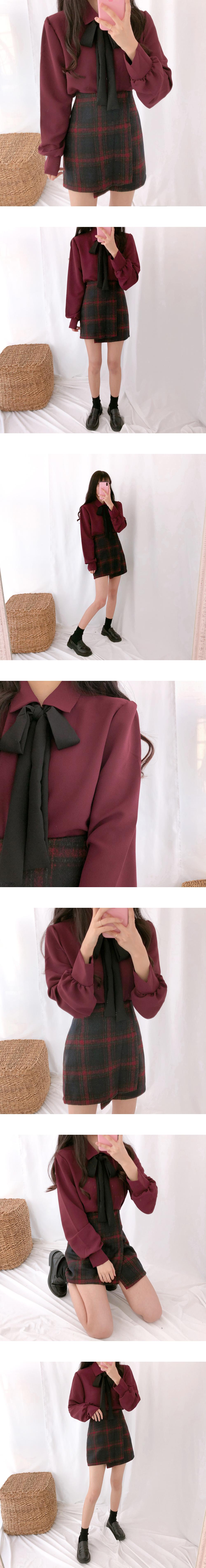My Girl Thong Ribbon Blouse