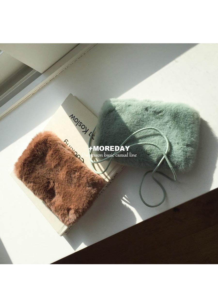 Fur cross bag