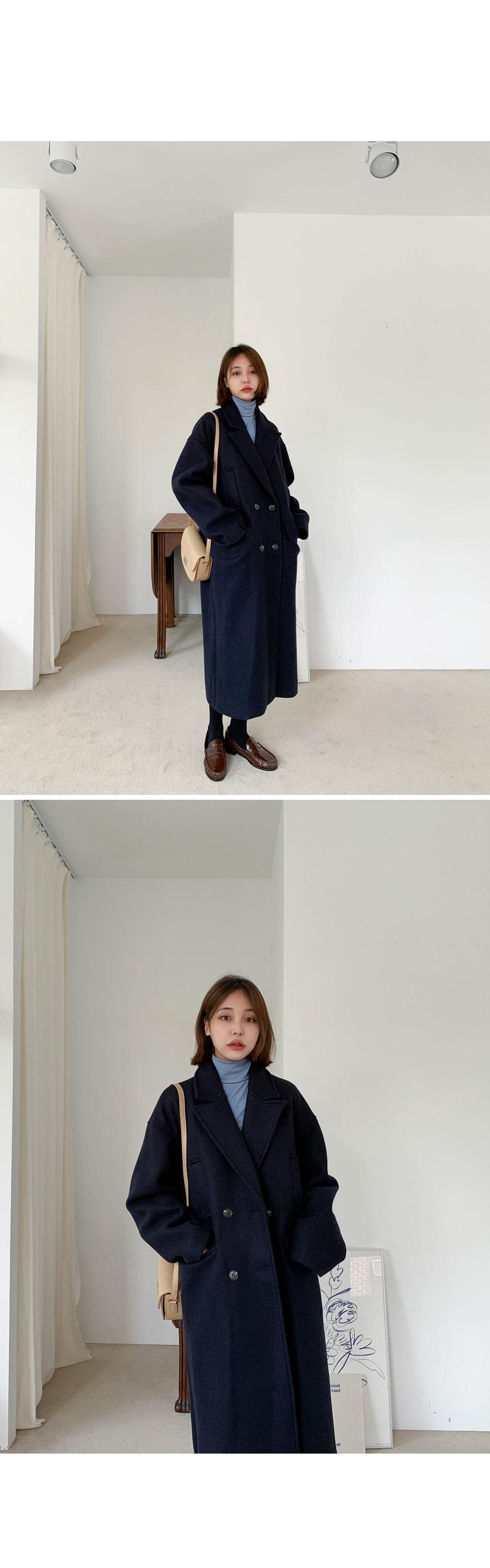 Wool Overfit Double Coat