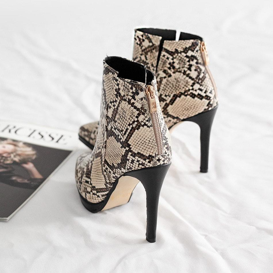 Covent Gaborsi Ankle Boots 10cm
