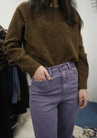 fresh span straight pants