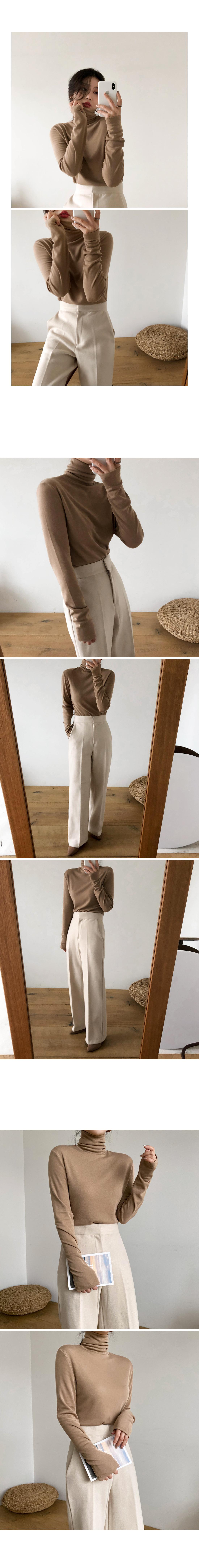Custom Wool Wide Long Slacks *