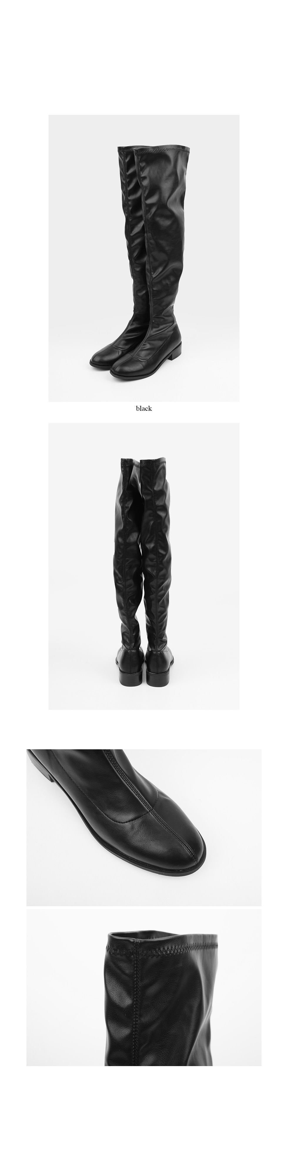 thigh-high vintage boots