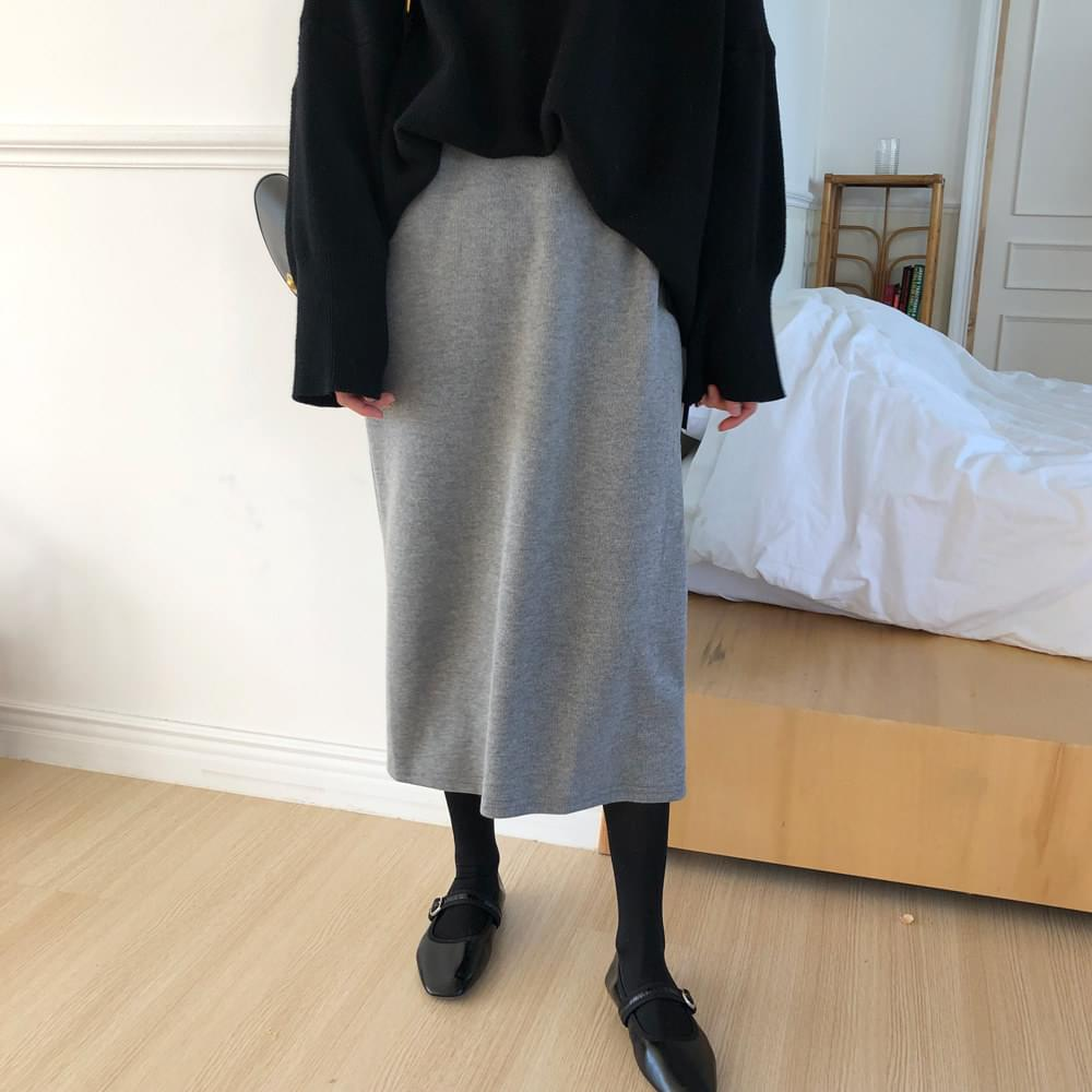 Natural long skirt