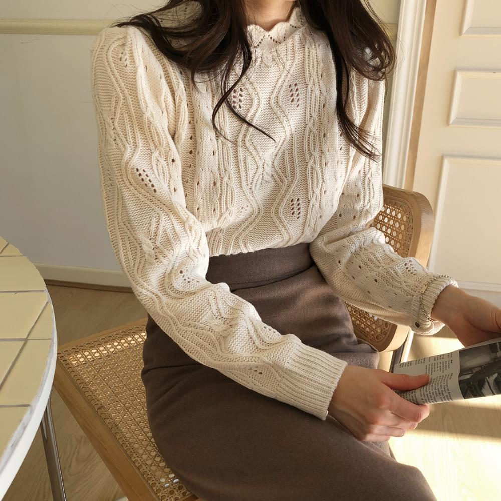 Wave Short Exhaust Knit