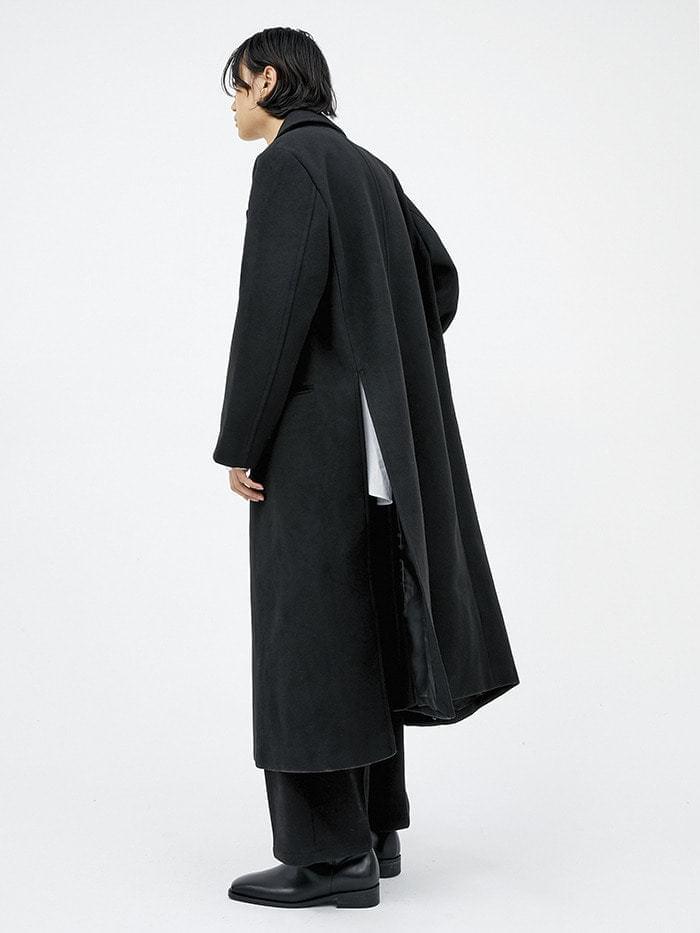 slit long double coat (3 color) - men